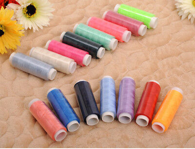 10/24/39 Spools Colour Finest Quality Sewing All Purpose 100% Cotton Thread Reel