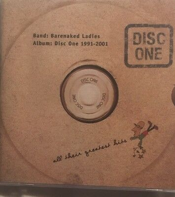 Barenaked Ladies Disc One All Their Greatest Hits 1991 2001 New