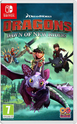 DRAGONS DAWN OF NEW RIDERS SWITCH ***PRE-ORDER ITEM*** Release Date: 01/02/19