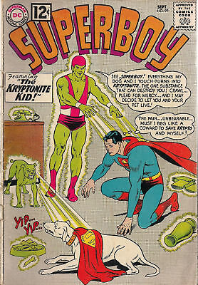 SUPERBOY #99 (1967) DC Comics VG+