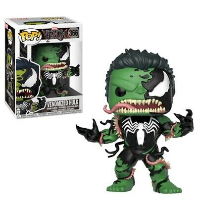 Marvel Venomized Incredible Hulk Vinyl POP! Figure Toy #366 FUNKO NEW MIB