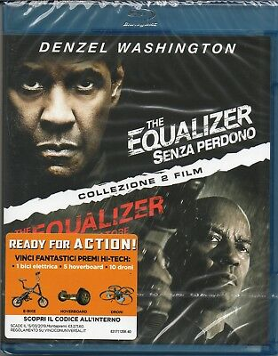 The Equalizer collection - 2 blu-ray - nuovo