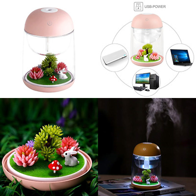 7 Colors Mini Portable Landscape Design Essential Oil Diffuser 180Ml Aroma Cool