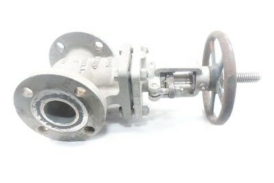 Powell 2495 Stainless 150 Flanged 2in Wedge Gate Valve