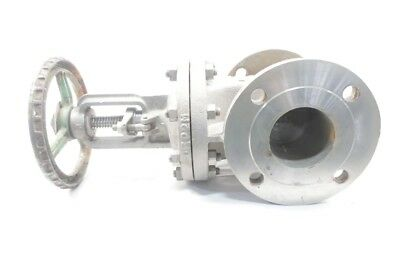 Kitz Stainless 150 Flanged 3in Wedge Gate Valve