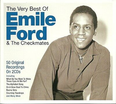 The Very Best Of Emile Ford & The Checkmates - 2 Cd Box Set - Gypsy Love & More