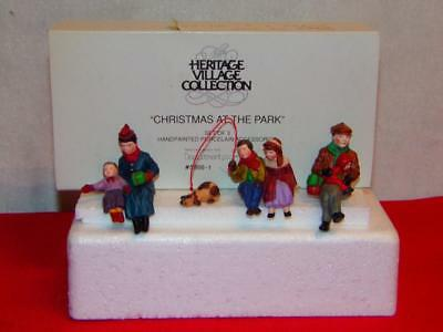 "Dept 56 - CHRISTMAS IN THE CITY - ""CHRISTMAS AT THE PARK"" -MIB-W"