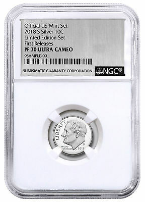 Portrait 2019 S Clad Roosevelt Dime Early Releases NGC PF70 Ultra Cameo