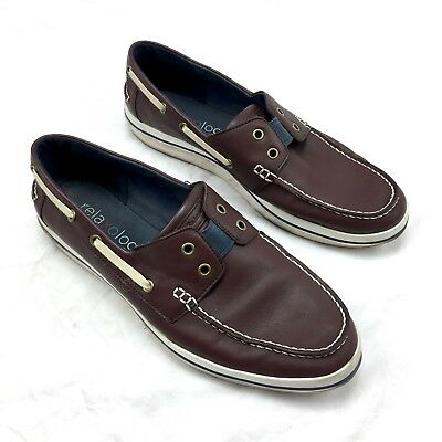 20ee5913b4a7 TOMMY BAHAMA MENS Shoes Relaxology Slip-on Boat Shoes size 11D ...