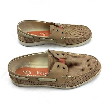 88dcc507afc2 TOMMY BAHAMA MENS Shoes Relaxology Rester Gore Leather Slip-on Size ...