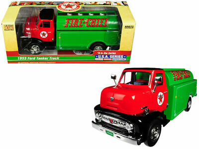 New 2018 Texaco 1953 Ford Fire Chief Tanker Truck #9 U.s.a. Series, Sold Out