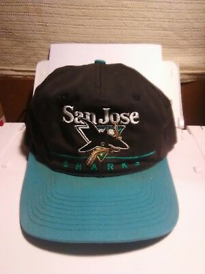 5c9845ed ... purchase vintage san jose sharks snapback hat cap nhl 4f541 2f367