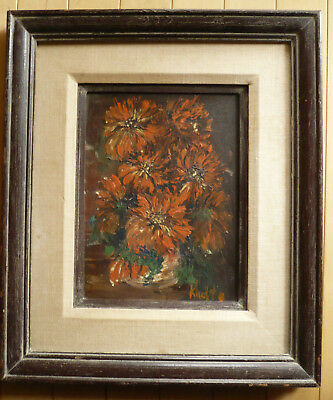 Ann Knapton, Collectible San Diego California Calif Ca Painting Floral Flowers