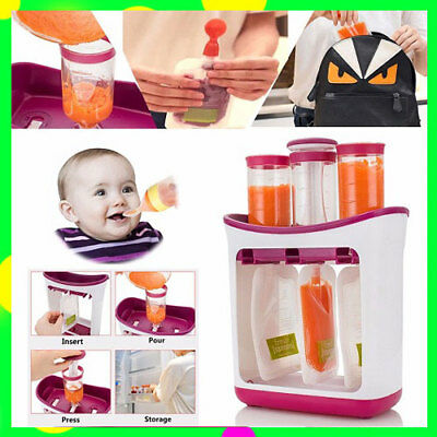 Baby Food Squeeze Juice Station Organination Storage Containers Maker Wholesale