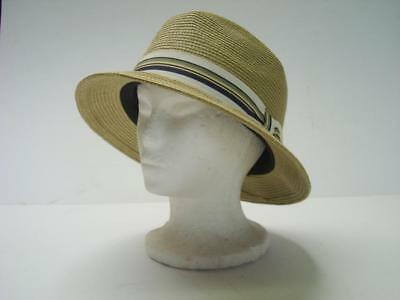Bailey of Hollywood Billy Fedora Hat 55% Paper 45% Polyester X-Large e996fbbcc410