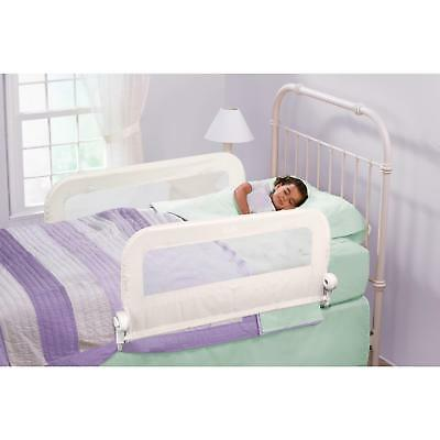 Summer Infant Grow With Me Double Bedrail - White Child Safety Bed Rail Guard