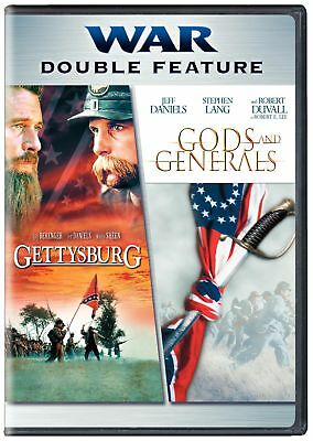 Gettysburg / Gods and Generals (DVD, 2 Disc) NEW