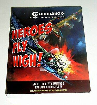 Heroes Fly High !  - 4Oo Pages - Reprinted From Six British War Comics