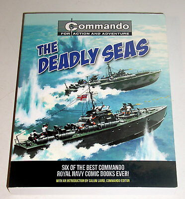 Deadly Seas - 4Oo Pages - Reprinted From Six British War Comics