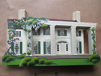 Sheila's Collectibles - TARA - Gone With The Wind House, 1995