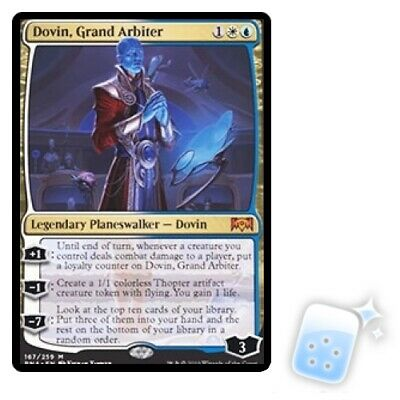DOVIN, GRAND ARBITER Ravnica Allegiance RNA Planeswalker Magic MTG MINT CARD