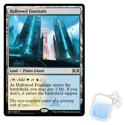 HALLOWED FOUNTAIN Ravnica Allegiance RNA Magic MTG MINT CARD