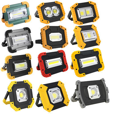 Outdoor Portable COB LED Work Light Waterproof USB Rechargeable Maintenance Lamp