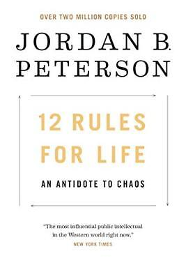12 Rules for Life: An Antidote to Chaos by Jordan B. Peterson (EB00K,2019)