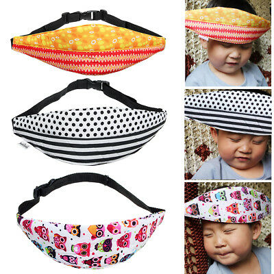 Baby Child Head Support Stroller Buggy Pram Car Seat Belt Sleep Safety Strap NEW