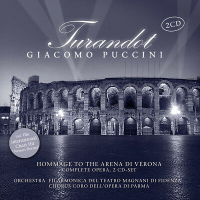 CD Turandot by Giacomo Puccini Incl Nessun Dorma 2CDs from the Met, New York
