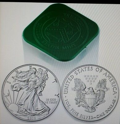 Dollari 2019 USA LIBERTY EAGLE once argento 20 x 1 oz argent silver