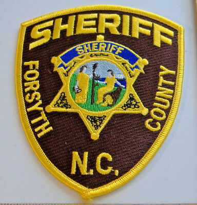 PATCH FORSYTH COUNTY Sheriff Department North Carolina