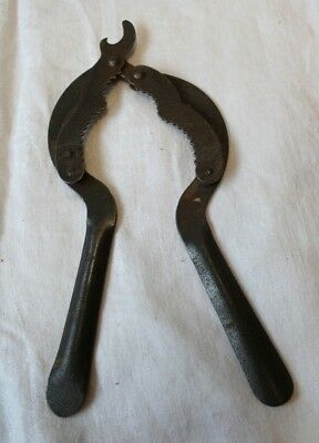 Antique Unusual Metal Jar / Bottle Opener Adjustable