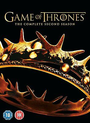 Game Of Thrones: The Complete Second Season (5 DVD BOXSET)(2013) ***NEW***
