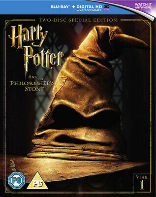 Harry Potter and the Philosopher's Stone DVD (2016) Daniel Radcliffe ***NEW***