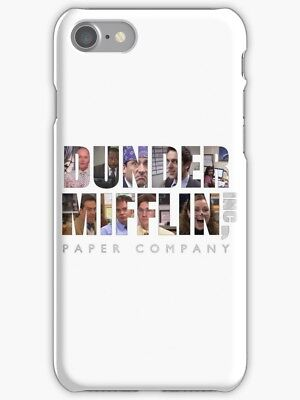 Dunder Mifflin Phone Case For iPhone X R S 8 7 6 Plus Max, The Office Phone Case