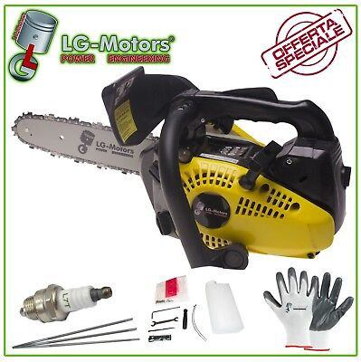 Motosega A Scoppio 25Cc Scoppio Potatore Lama 250Mm Super Offerta