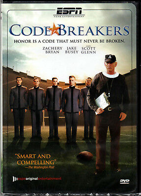 CODE BREAKERS The MOVIE on a DVD of ARMY WEST POINT Military FOOTBALL TEAM Sport
