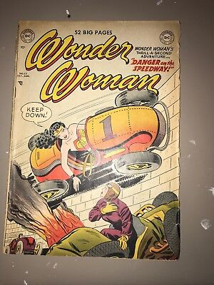 Wonder Woman 42 Golden Age Comic