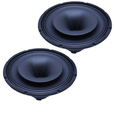 SEISMIC AUDIO - Pair of-12 Inch Coaxial Speaker with Integrated T-Yoke NEW -300W