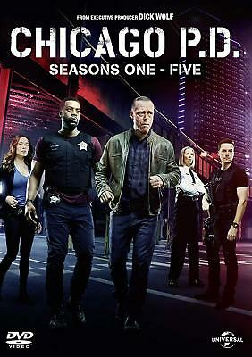 "Chicago PD Complete Series Season 1 - 5 DVD Box Set ""Clearance"""