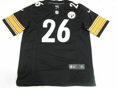 1675b82b354 LE VEON BELL  26 Pittsburgh Steelers All Sewn Color Rush Mens Jersey ...