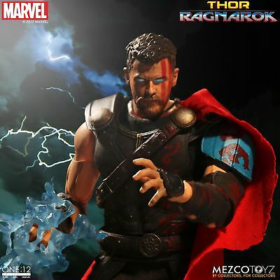 One 12 Collective Marvel Thor Ragnarok Movie Thor 6 Inch Scale Figure New