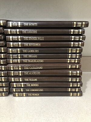 Time Life The Old West Complete 26 Vol Book Set