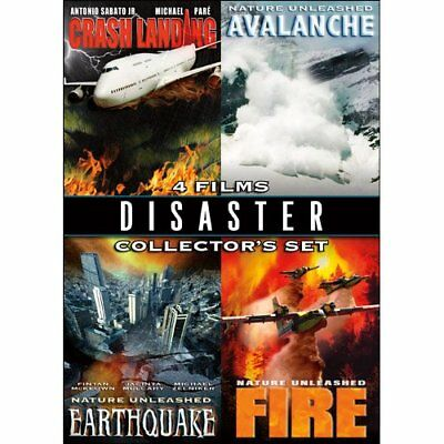 Disaster 4 Film Collector's Set (DVD,Dbl Sided Disc) NEW