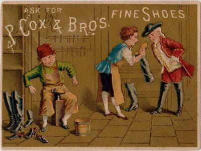 Cobblers Making Boots P Cox & Brothers Fine Shoes Rochester NY