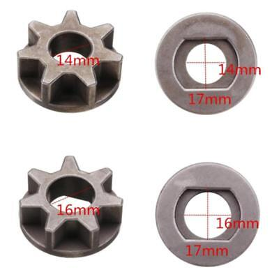 Chainsaw Gear Wheel Gear For Angle Grinder Chainsaw Steel Silver M14 Kit Durable