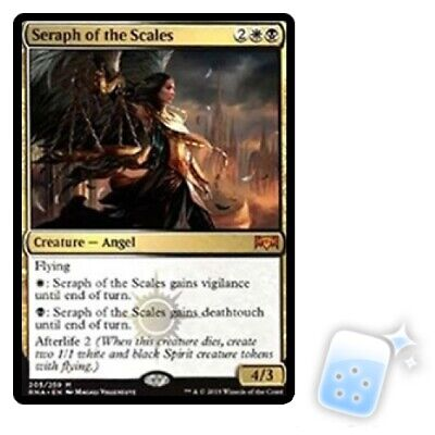 SERAPH OF THE SCALES Ravnica Allegiance RNA Magic MTG MINT CARD