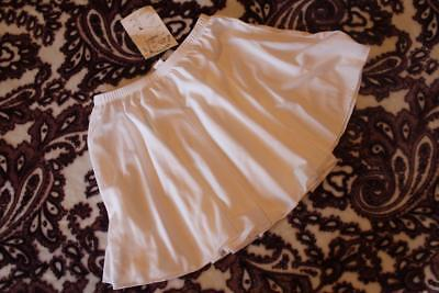 BODY MOVEMENTS WHITE DANCE SKIRT Size ADULT - NWT