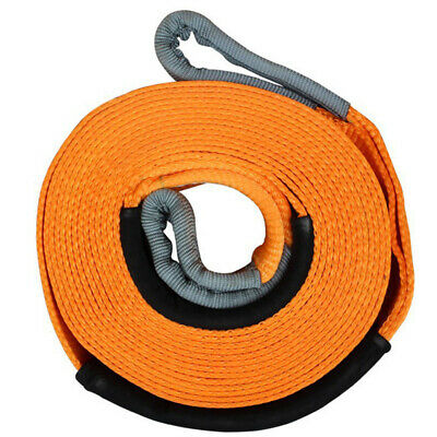 5 TONNE 5 M Tow Towing Pull Rope Strap Heavy Duty Road Offroad Recovery Car Van